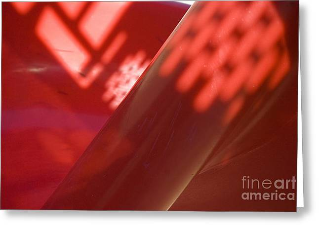 Slide Photographs Greeting Cards - Playground abstract Greeting Card by Jim Wright
