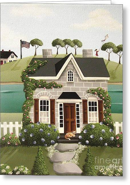 Catherine Greeting Cards - Pleasant Point Greeting Card by Catherine Holman