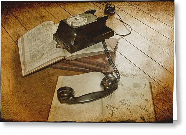 Floorboards Greeting Cards - Please Hold Greeting Card by Nomad Art And  Design