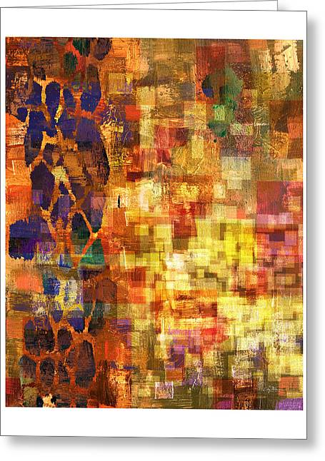 Purple Abstract Greeting Cards - Pleased Beginnings 1 Greeting Card by Craig Tinder