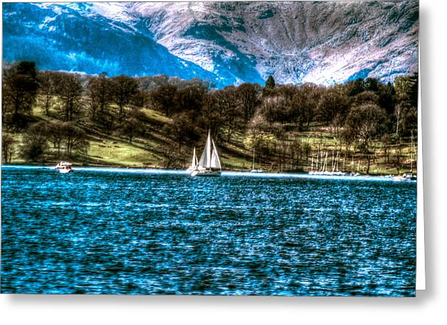 Sailboats Docked Greeting Cards - Pleasure Trip Greeting Card by Michael Braham
