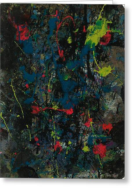 Stellar Paintings Greeting Cards - Pleasures of the Abyss Greeting Card by Anonymous