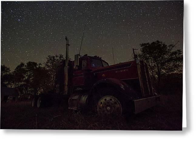 North Star Greeting Cards - Pleiades Reflection Greeting Card by Aaron J Groen