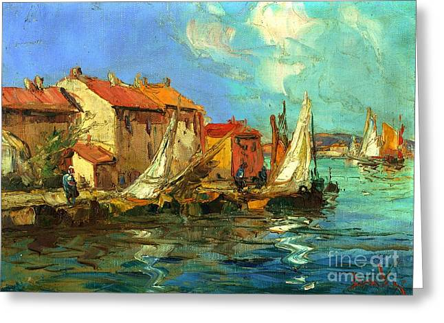 Sud Greeting Cards - Plein Air one Greeting Card by Michael Swanson