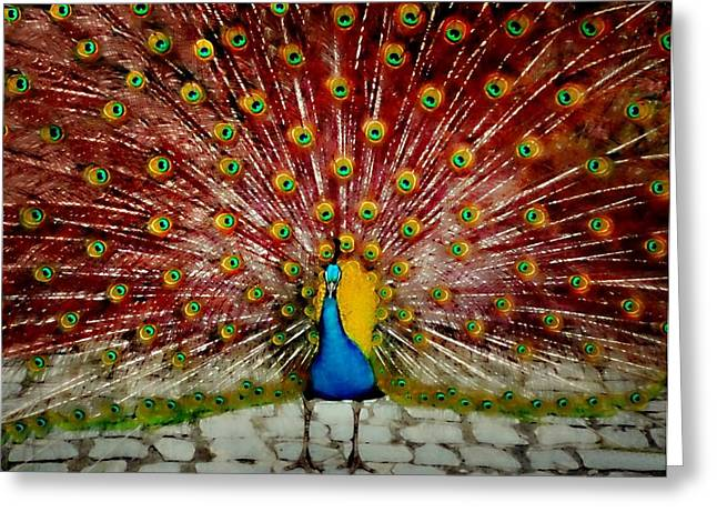 In Full Bloom Greeting Cards - Plumage Greeting Card by Diana Angstadt