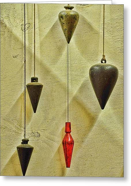Plumb Greeting Cards - Plumb Red Greeting Card by Jan Amiss Photography