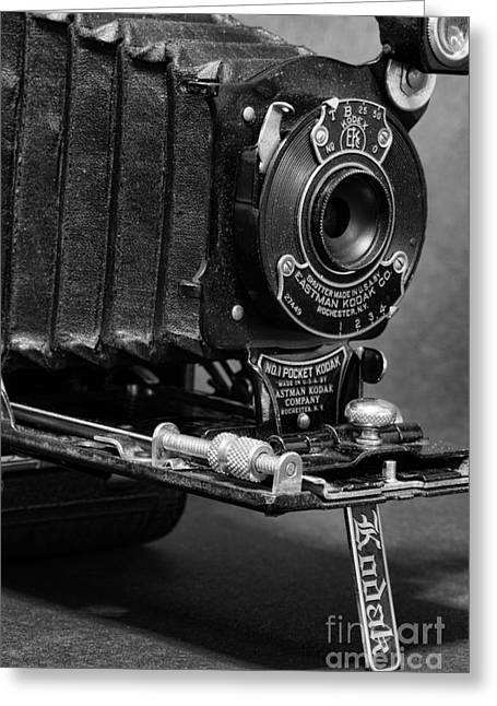 Aperture Greeting Cards - Pocket Kodak Greeting Card by Paul Ward