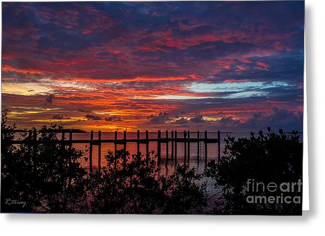 Isla Morada Greeting Cards - Poem Without Words Greeting Card by Rene Triay Photography