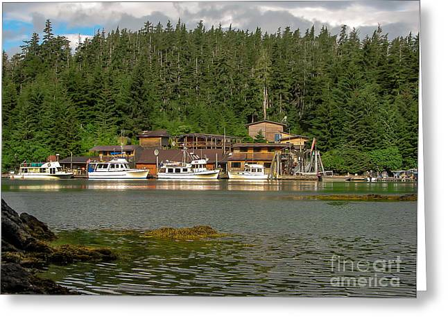 Southeast Alaska Greeting Cards - Point  Baker Greeting Card by Robert Bales