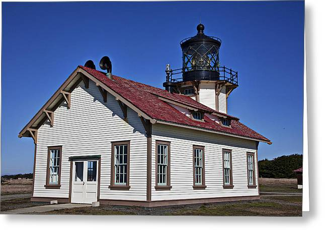 Points Greeting Cards - Point Cabrillo Light Station Greeting Card by Garry Gay