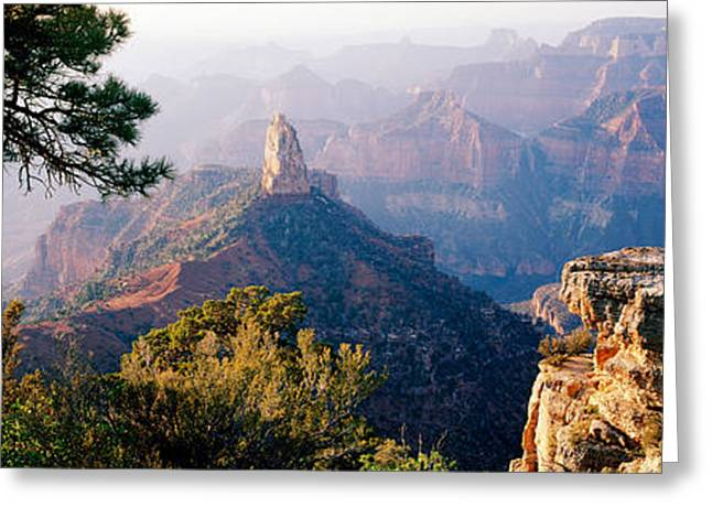 Point Imperial At Sunrise, Grand Greeting Card by Panoramic Images