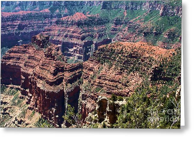 The Grand Canyon Greeting Cards - Point Imperial View Greeting Card by Adam Jewell