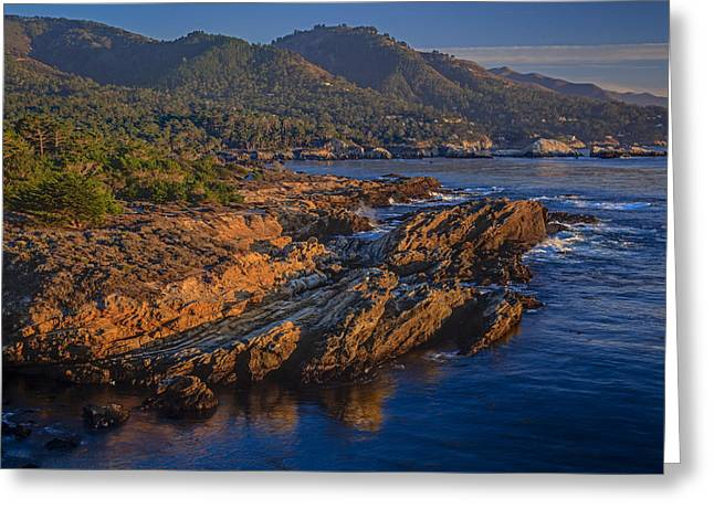 Point Lobos Greeting Cards - Point Lobos 2013 Greeting Card by Ralph Nordstrom
