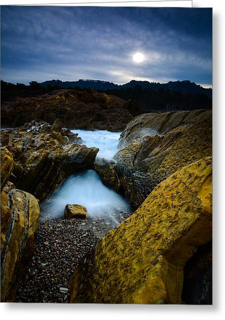 Point Lobos Big Sur Sea Arch Greeting Card by Tracy Schultze