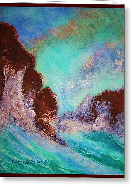 Point Lobos Greeting Cards - Point Lobos California Ocean Greeting Card by Peggy Leyva Conley