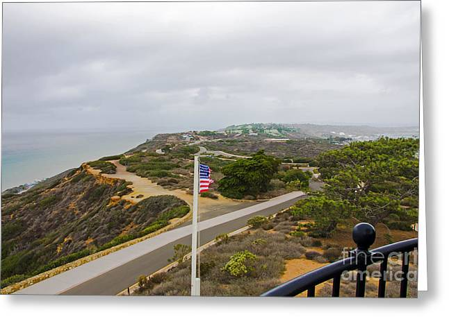 California Art Greeting Cards - Point Loma Greeting Card by Baywest Imaging