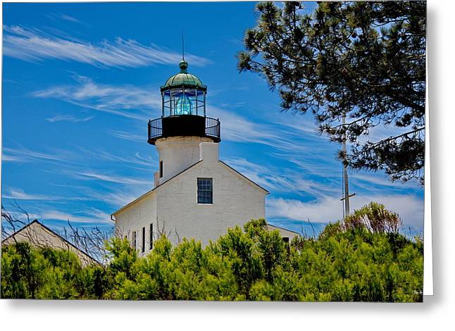 Point Loma Greeting Cards - Point Loma Lighthouse Greeting Card by Russ Harris
