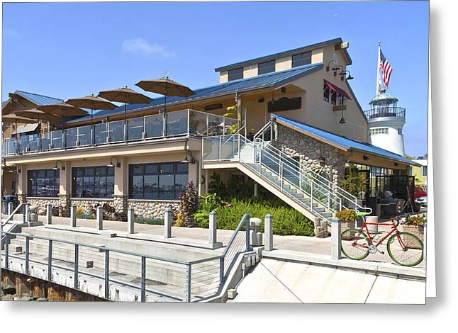 Leasure Greeting Cards - Point Loma Seafoods and cafe California. Greeting Card by Gino Rigucci