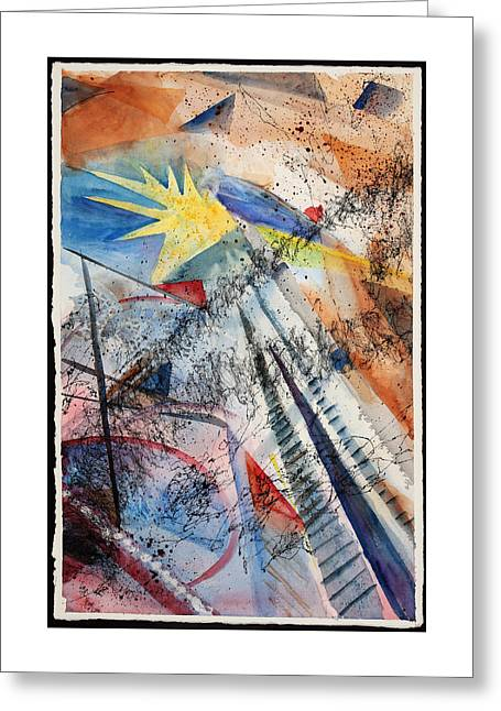 Point Of View Greeting Card by Mary Benke