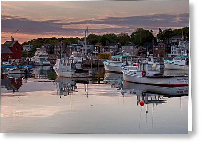 New England Village Greeting Cards - Pointing the way Greeting Card by Jeff Folger