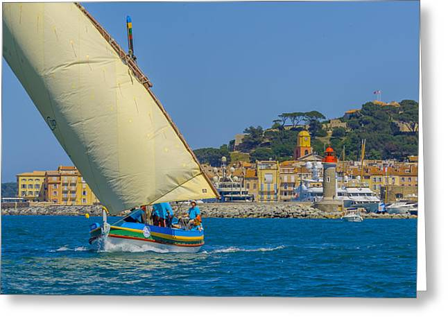 St.tropez Greeting Cards - Pointu Greeting Card by Christian Baumgart