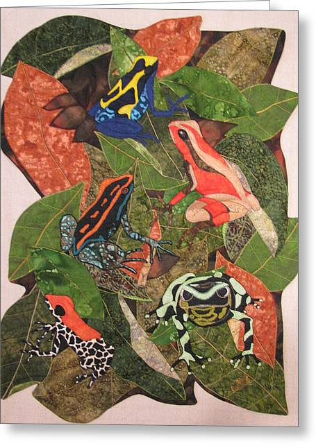 Poison Dart Frogs #2 Greeting Card by Lynda K Boardman