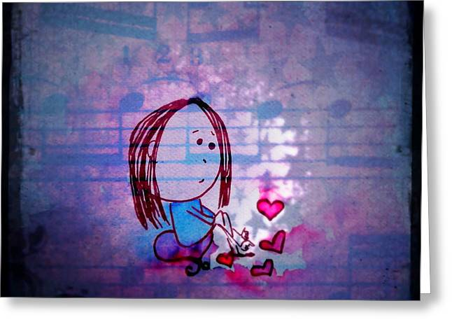 Missing Child Greeting Cards - PoKE  Greeting Card by Suzen JueL
