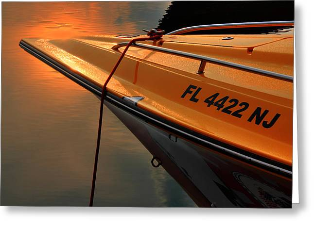 Poker Run Boat Greeting Cards - Poker Run 13 Greeting Card by Jim Vance
