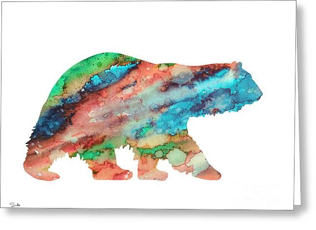 Polar Greeting Cards - Polar bear Greeting Card by Luke and Slavi