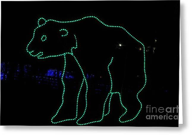 Bright Greeting Cards - Polar Bear Greeting Card by Mandy Judson