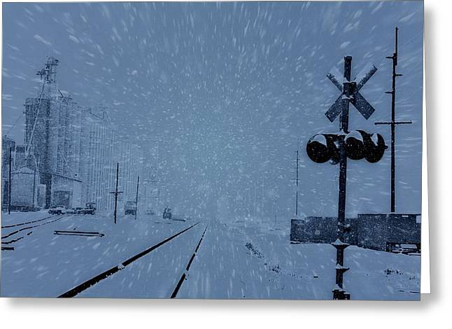 Storybook Mixed Media Greeting Cards - Polar Express Greeting Card by Dan Sproul