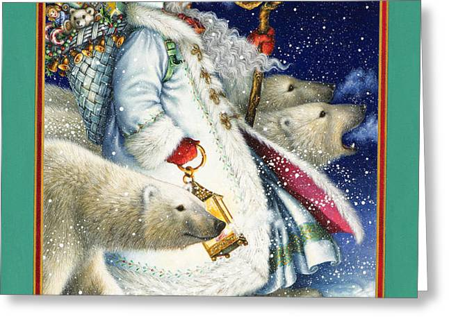 Polar Magic Greeting Card by Lynn Bywaters