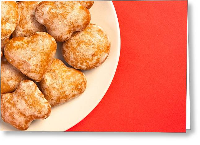 Glazed Greeting Cards - Polish sweets Greeting Card by Tom Gowanlock