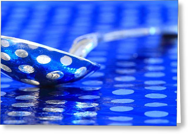 Polka Dot Spoon 2 Greeting Card by Pattie Calfy