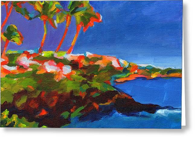 Pacific Ocean Prints Greeting Cards - Polo Beach. Maui Greeting Card by Tanya Filichkin