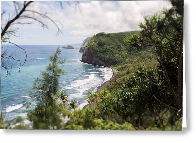 Beach Photographs Greeting Cards - Pololu valley Greeting Card by Nastasia Cook