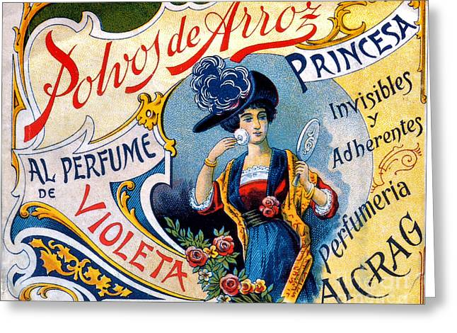 Polvos De Arroz, 1890 Greeting Card by Science Source