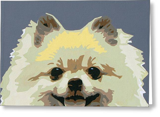 Pomeranian Greeting Cards - Pomeranian Greeting Card by Slade Roberts