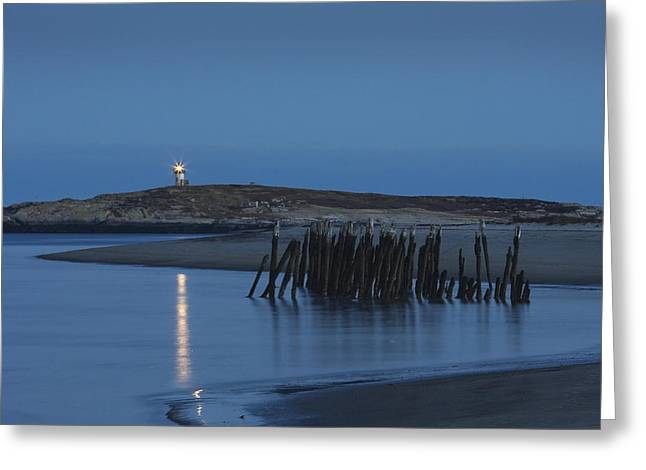 New England Lighthouse Greeting Cards - Pond Island Lighthouse Kennebec River Maine Print Greeting Card by Keith Webber Jr