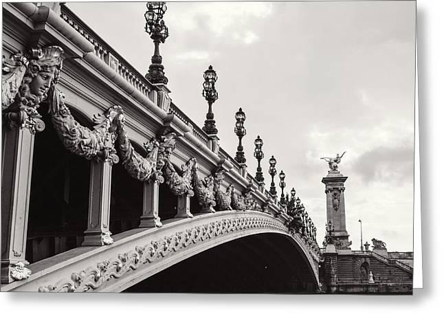 Pont Alexandre IIi Greeting Card by Melanie Alexandra Price