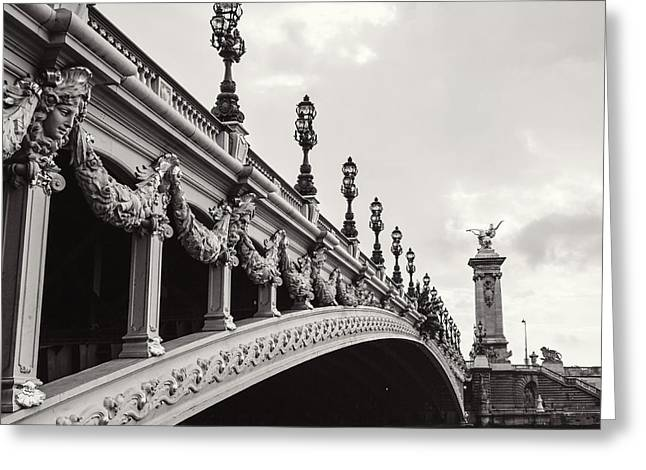Bridges Greeting Cards - Pont Alexandre III Greeting Card by Melanie Alexandra Price