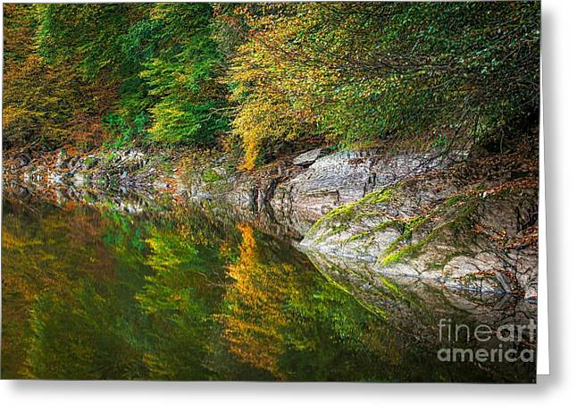 Family Time Greeting Cards - Pont-Misere Greeting Card by Maciej Markiewicz