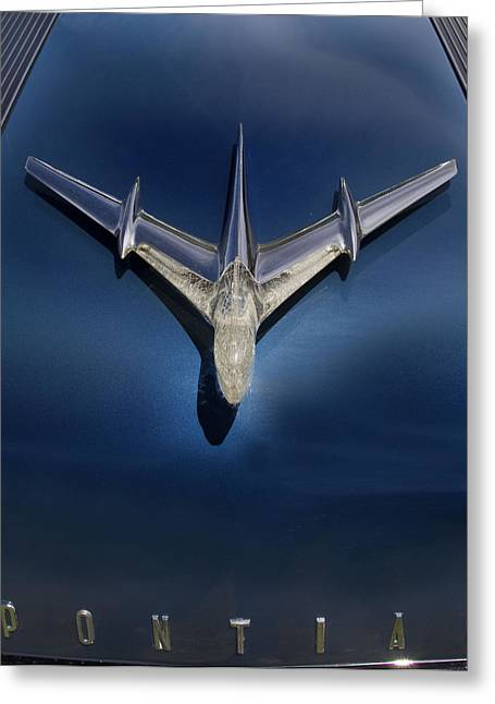 Flying Planes Greeting Cards - Pontiac Plane Greeting Card by Rebecca Cozart