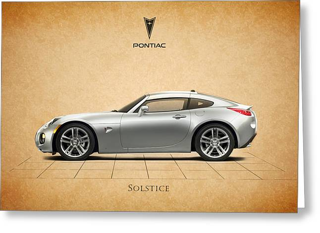 Solstice Greeting Cards - Pontiac Solstice Greeting Card by Mark Rogan