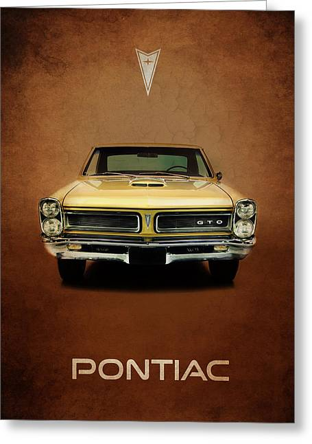 Pontiac Gto Greeting Cards - Pontiac Tempest GTO Greeting Card by Mark Rogan