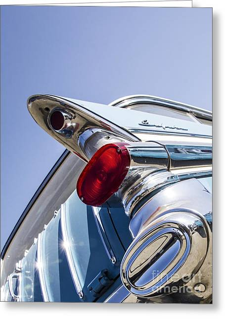 Car Framed Prints Greeting Cards - Pontiac Wagon - Metal and Speed Greeting Card by Holly Martin
