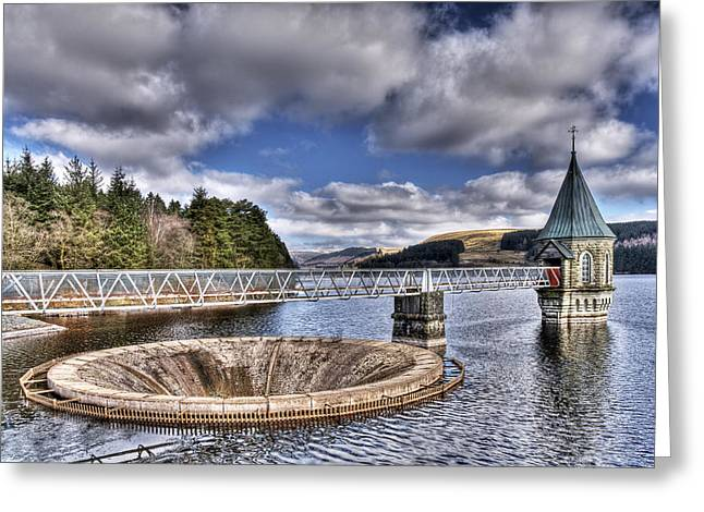 Waterscapes Of Wales Greeting Cards - Pontsticill Reservoir 2 Greeting Card by Steve Purnell