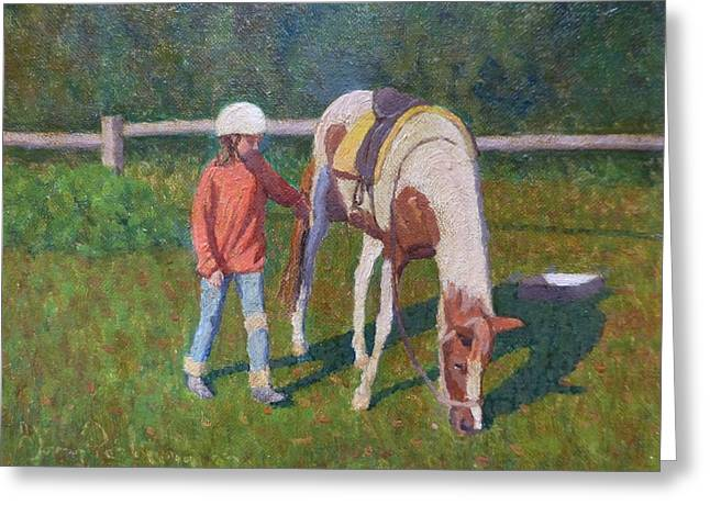 Terry Perham Greeting Cards - Pony Greeting Card by Terry Perham