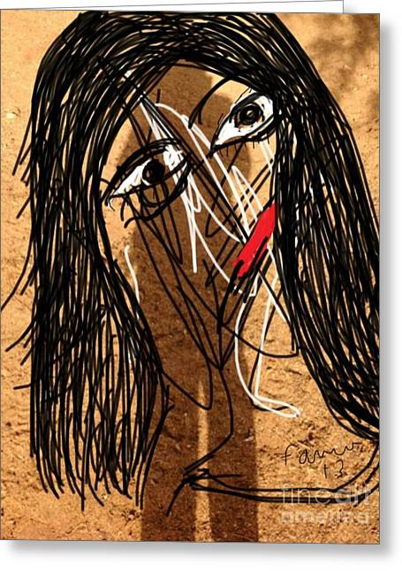 Mentality Greeting Cards - Poor but Love to Skin Bleach Greeting Card by Fania Simon