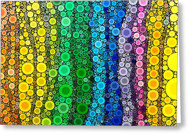 Rochvanh Greeting Cards - Pop-05 Greeting Card by RochVanh